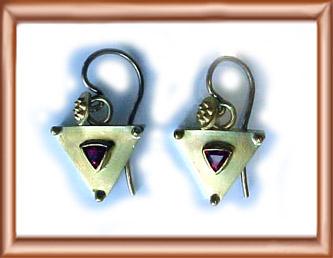 Spinel Earring