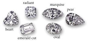 Diamond Cut Shapes