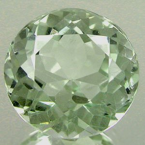 Stones. Green Amethyst Gemstone