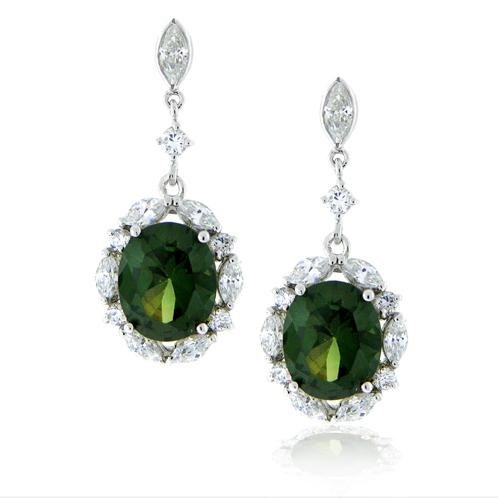 Green Diamonds Precious Stones Emerald Gems Jewelry